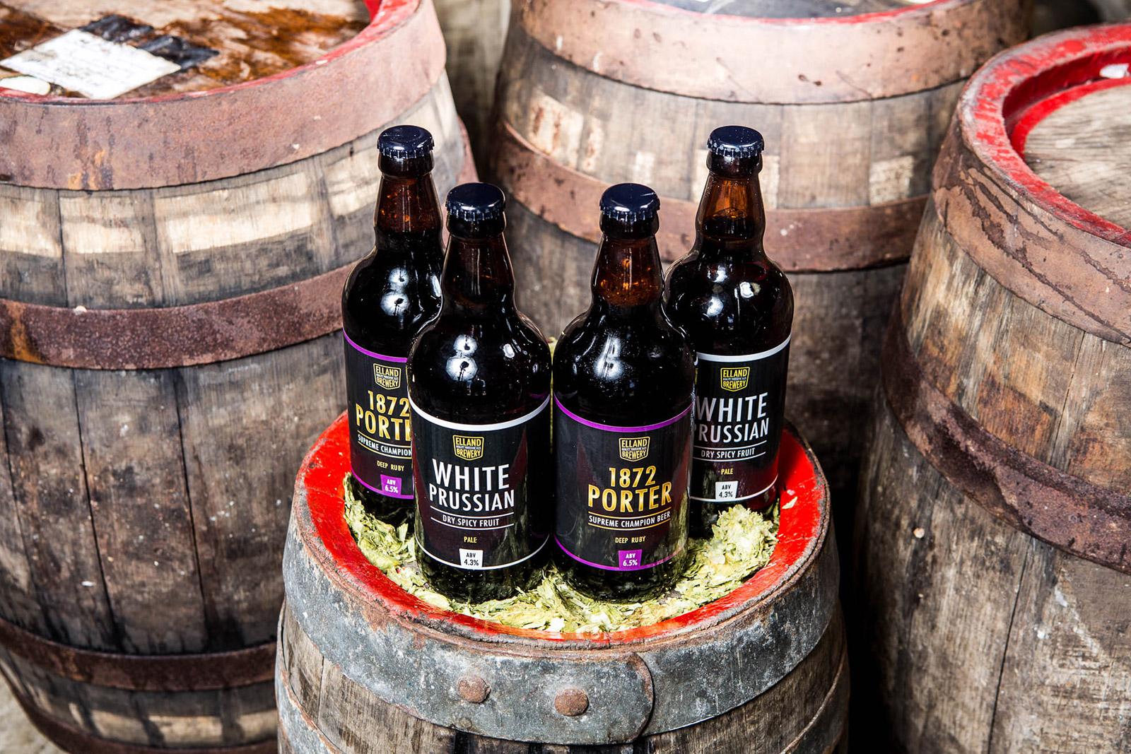 Elland Brewery Beer Barrel