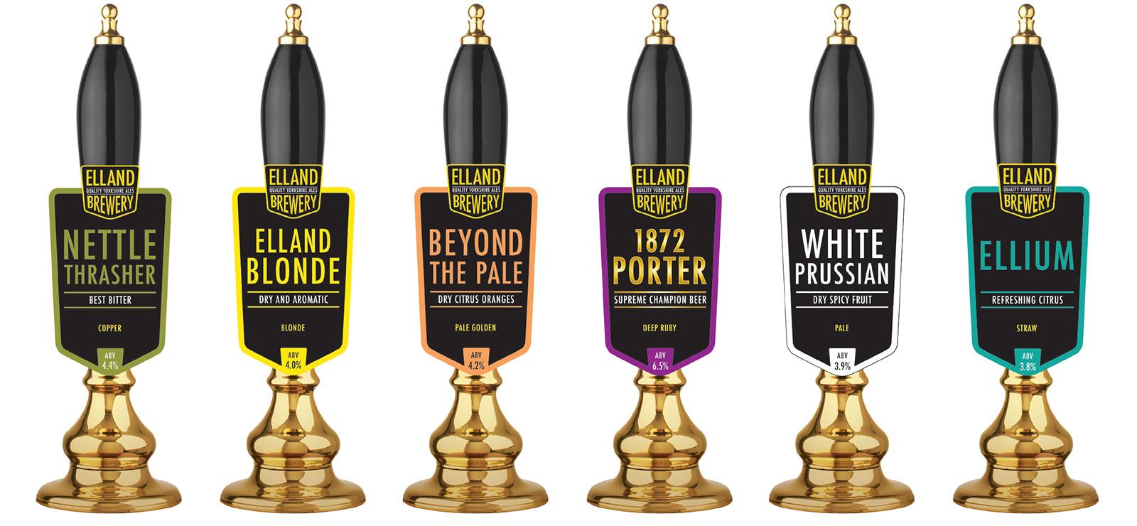 Elland Brewery Pump Clips