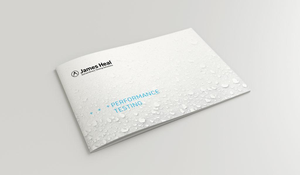 James Heal Performance Testing Brochure